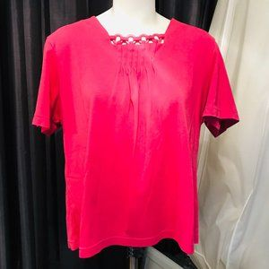 Southern Lady Pink Top